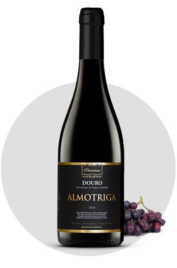 Almotriga premium vino tinto doc douro